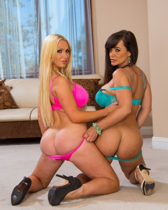 Nikki Benz & Lisa Ann Culazos