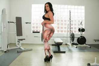 Kendra Lust gimnasio - Trasero