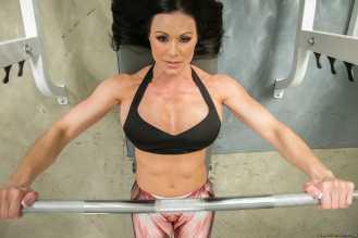 Kendra Lust gimnasio - Pesas