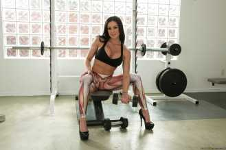 Kendra Lust gimnasio - Sexy