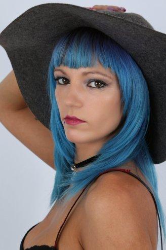 Mirada azul - Pamela